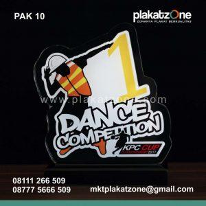 Plakat Akrilik Dance Competition KPC Cup