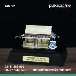 Miniatur Rumah Adat Betawi Pemkot Tangsel
